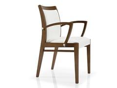 Sedia in tessuto con braccioli CASSIS | Sedia con braccioli - Cassis