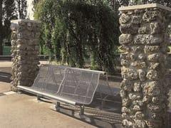 BD Barcelona Design, CATALANO Panchina in acciaio con schienale