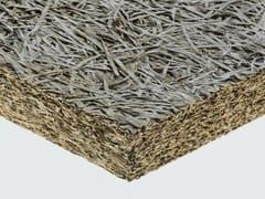 Pannello termoisolante / pannello fonoisolante in lana di legno mineralizzata CELENIT N -