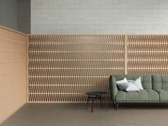 Elemento tridimensionale in terracotta per pareti divisorieCELOSIA - MUTINA