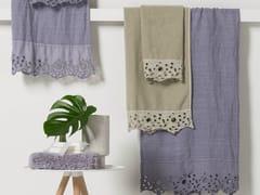 Asciugamano in lino CERCHI | Asciugamano - Decor