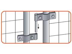 Accessori per recinzioni mobiliCERNIERA - METALLURGICA IRPINA