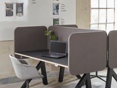 Pannello divisorio da scrivania fonoassorbente in tessutoCERO R100 | Divisorio ufficio - GLIMAKRA OF SWEDEN