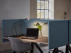 Pannello divisorio da scrivania fonoassorbente in tessutoCERO R15 | Divisorio ufficio - GLIMAKRA OF SWEDEN
