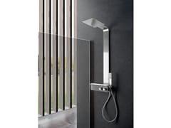 Colonna doccia a parete con doccettaCERVINO - WEISS-STERN