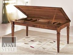 Tavolo allungabile in legno massello CESARE | Tavolo rettangolare - Cesare