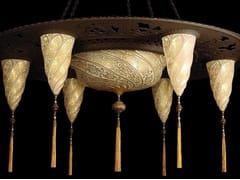 Lampada a sospensione in vetro CESENDELLO SULTANO - GLASS LAMPS