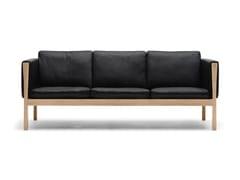 Divano imbottito a 3 postiCH163   Sofa - CARL HANSEN & SØN MØBELFABRIK A/S