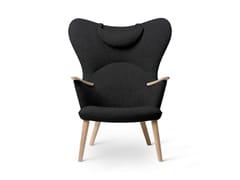 Poltroncina imbottita in legno massello con braccioliCH78 | Mama Bear Chair - CARL HANSEN & SØN MØBELFABRIK A/S