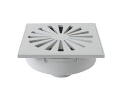 Chiusino sifonato in ABS grigio con scarico verticaleCHABSV1540G/CHABSV1550G - FIRST CORPORATION
