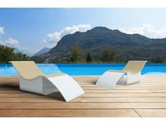 Chaise longue in Solid SurfaceGODIVA ALTA - ZURI DESIGN