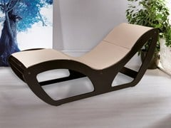 Lettino in legno CHAISE LONGUE - LEMI GROUP