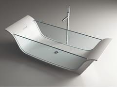 MOMA Design, CHAISE LONGUE VITRE Vasca da bagno centro stanza