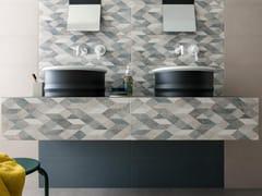 Rivestimento in ceramica a pasta biancaCHALK   Origami Grey - MARAZZI GROUP
