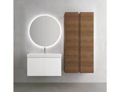 Mobile lavabo sospeso con armadio CHANGE 352 - Change