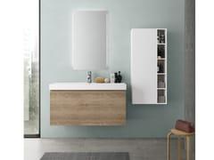 Mobile lavabo sospeso con cassetti CHANGE 362 - Change