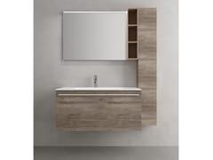 Mobile lavabo sospeso con cassetti CHANGE 363 - Change