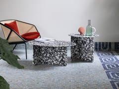 Tavolino ovale in marmoCHAP   Tavolino in marmo - MINIFORMS