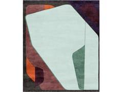 Tappeto fatto a mano rettangolareCHARADES WITH AISEDORA - TAPIS ROUGE