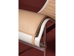 Chaise longue imbottita in pelle CHARLOTTE | Chaise longue - DANTE - GOODS AND BADS