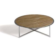 Tavolino rotondo in pietra CHARME   Tavolino basso -