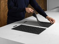 Piano cottura integrato nel top con cooking pad tecnologicoCHEF - LAPITEC