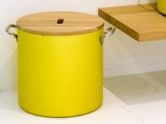 Portabiancheria in alluminio e legnoCHEF | Portabiancheria - RAPSEL INTERNATIONAL