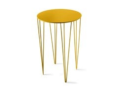 Tavolino alto laccato rotondo CHELE ROUNDED | Tavolino alto - Tables