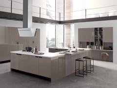 Cucina componibile laccata CHERRY | Cucina laccata -