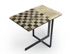 Tavolo da scacchi rettangolareCHESS - ALCAROL DI ELEONORA DAL FARRA