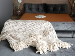 Coperta in lana merinoCHEVRON SLIM | Coperta - PANAPUFA