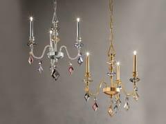Lampadario a luce diretta in cristallo in stile classico con cristalli CHIC 3 - Chic