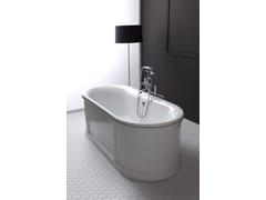 Vasca da bagno centro stanza in ghisaCHIC - BLEU PROVENCE
