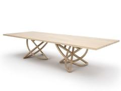 Tavolo rettangolare in legnoCHORUM - BELFAKTO