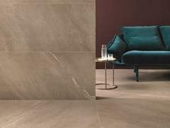 Pavimento/rivestimento in gres porcellanato effetto pietra CHORUS BEIGE - Chorus