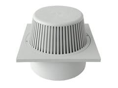 Chiusino sifonato in PVC grigio con parafoglieCHPVCPF20G - FIRST CORPORATION