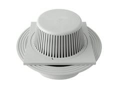 Chiusino sifonato in PVC grigio con scarico verticaleCHPVCPFBV2011G - FIRST CORPORATION