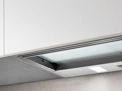 Cappa in acciaio ad incasso con illuminazione integrataCIAK - ELICA