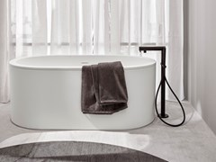 Ceramica Cielo, CIBELE Vasca da bagno centro stanza in Livingtec®