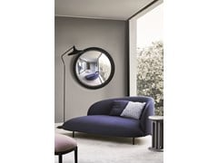 Specchio rotondo da parete con corniceCICLOPE - ARFLEX