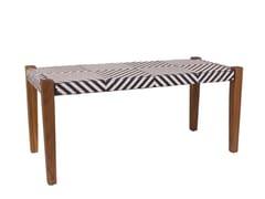 Tavolino basso da giardino rettangolareCINÉMA D'ÉTÉ   Tavolino rettangolare - IL GIARDINO DI LEGNO