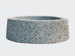Fioriera per spazi pubblici bassa rotonda in cementoCERCHIO PIANTE - CANTIERE TRI PLOK