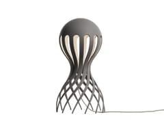 Lampada da tavolo a LED in alluminioCIRRATA GREY - OBLURE
