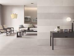 Pavimento/rivestimento in gres porcellanato effetto cementoCITTÀ - CASALGRANDE PADANA