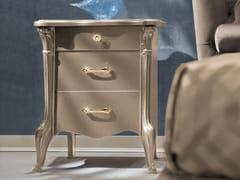 Comodino in legno con cassettiCITY | Comodino - LINEA & CASA +39