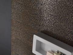 Pavimento/rivestimento in gres porcellanato effetto metalloCITY CORDUSIO BRONZO 3D - LEA CERAMICHE