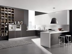 Cucina componibile con penisola CITY | Cucina in stile moderno -