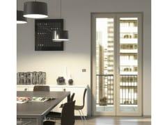 Porta-finestra a battente in legno–alluminio CITY | Porta-finestra a battente - City