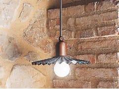 Lampada a sospensione in ottoneCIVETTA | Lampada a sospensione - ALDO BERNARDI
