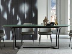 Tavolo rettangolare in marmoCJ - BERTO
